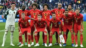 onze titulaire équipe de Belgique football